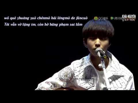 [Vietsub Live] 160806 TFBOYS Vương Tuấn Khải (Wang JunKai - 王俊凯) - Nỗi nhớ vòng đu quay (摩天轮的思念)