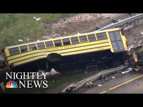 NT Safety Board Calls For 3-Point Seat Belts In New School Buses | NBC Nightly News