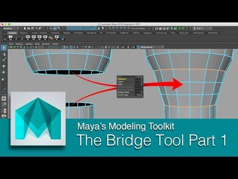 DART 104 Intro To Maya: The Bridge Tool Part 1