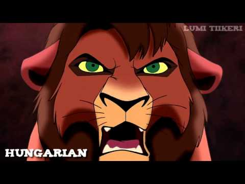 "The Lion King II - ""Simba Is The Enemy"" (One Line Multilanguage) [HD]"