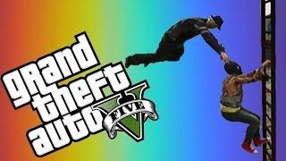 GTA 5 Online Funny Moments! #3 (Infinite falls, Retard Cops and More!)