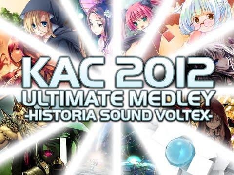 [Stepmania] KAC 2012 ULTIMATE MEDLEY -HISTORIA SOUND VOLTEX- (+Pack Compilation Download!)