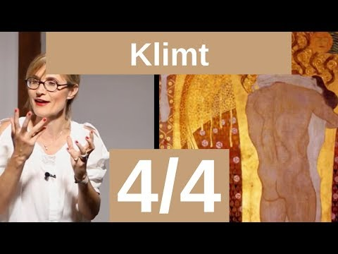 Gustave Klimt 4/4 Frise Beethoven et palais Stoclet