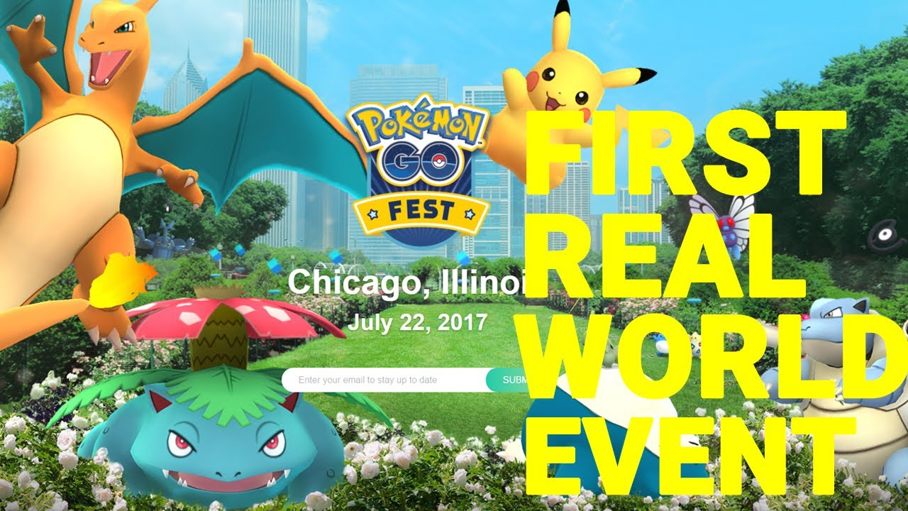 pokemon go fest chicago event july 2017 youtube. Black Bedroom Furniture Sets. Home Design Ideas