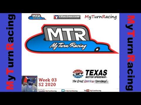 MTR W03 S2 2020 Texas Motor Speedway Speedway iRacing Oculus Rift VR
