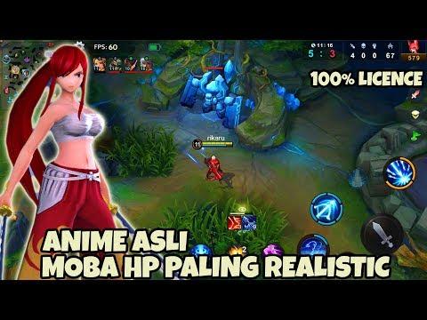Sumpah! MOBA Fairy Tail 60Fps Game MOBA TERMIRIP DENGAN PC XIaomi SUper GOD Gameplay