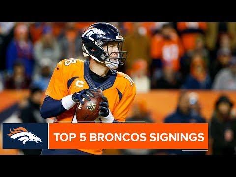 Most Impactful Broncos Free-Agent Signings Ever | Denver Broncos