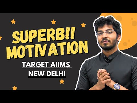 SUPER Motivation for AIIMS NEW DELHI   Story of my HIGH YIELD Question Bank Student