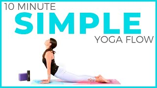 Simple Yoga Flow (10 minute Yoga) Yoga for All Levels | Sarah Beth Yoga