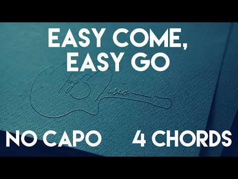 How To Play Easy Come, Easy Go by George Strait   No Capo (4 Chords) Guitar Lesson