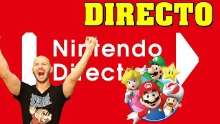 ¡¡¡DIRECTO DEL NINTENDO DIRECT CON SASEL, QUE RABIEN LOS PIPEROS!!! - Switch