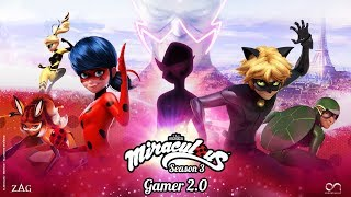 MIRACULOUS | 🐞 GAMER 2.0 - OFFICIAL TRAILER  🐞 | Tales of Ladybug and Cat Noir