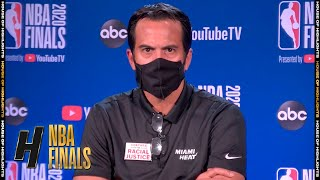 Eric Spoelstra Postgame Interview - Game 1 | Heat vs Lakers | September 30, 2020 NBA Finals