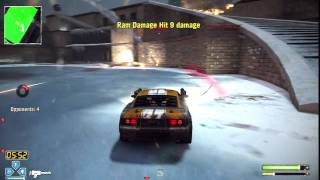 Twisted Metal PS3 Gameplay - Electric Cage Match - Metro Square | WikiGameGuides