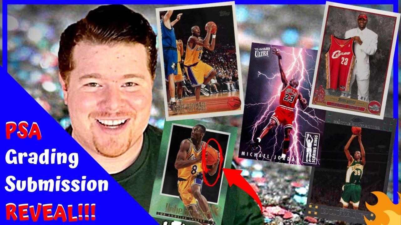 SHOCKING PSA SUBMISSION REVEAL!!! | Michael Jordan, Kobe Bryant, LeBron James, Kevin Durant [S3 E42]