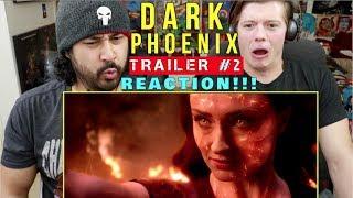 X-MEN: DARK PHOENIX | TRAILER #2 - REACTION!!!