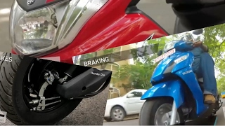 Yamaha Ray z vs Honda Dio vs Suzuki Let's