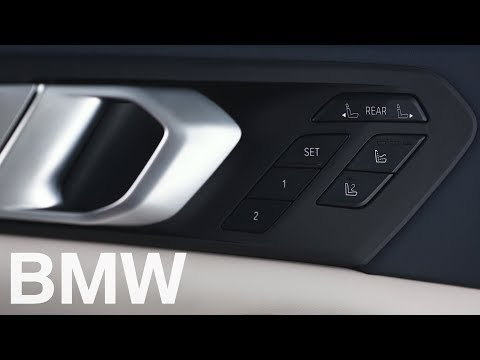 How to prepare the second row of seats from the driver's seat in your BMW X7 – BMW How-To