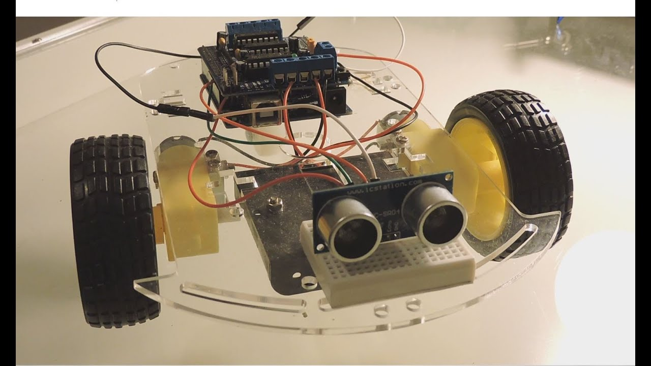 Arduino how to build an obstacle avoiding robot youtube