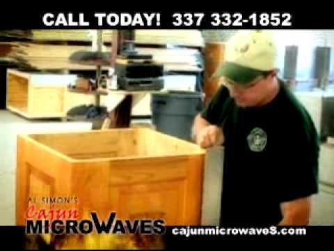 All Simon's Cajun Microwaves