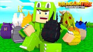 LOCATION of ALL 15 DRAGONS! - DragonFire : Bedrock Edition