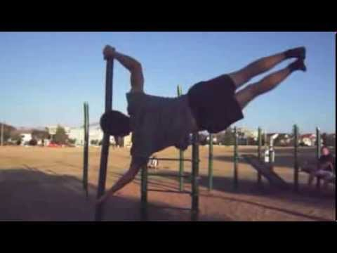 street workout melbourne (human flag, muscle up, one arm pull up, Muscles
