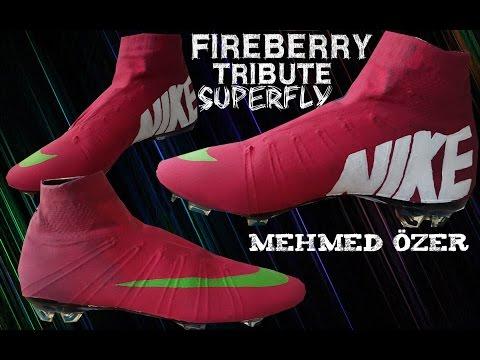Nike Mercurial Superfly 6 Fireberry Tribute Custom Design