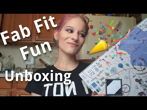 Fab Fit Fun Summer Box 2017 Unboxing