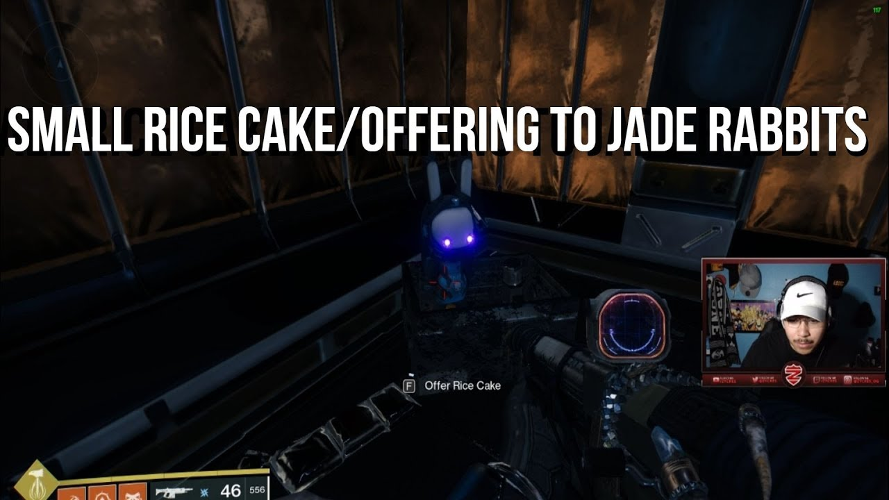 Destiny 2 Small Rice Cake Small Gift To Jade Rabbits Zycres Youtube That's everything we know so far about jade rabbits and small rice cakes in destiny 2. destiny 2 small rice cake small gift to jade rabbits zycres