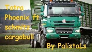 como vemos en el video el  schmitz cargobull  no soporta muy bien el peso XD  , Like para mas!!!
