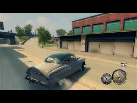 Mafia II Drift and Top Speed 10