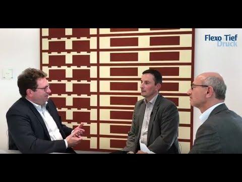 Mathias Schliep im Interview mit Flexo+Tief-Druck - YouTube