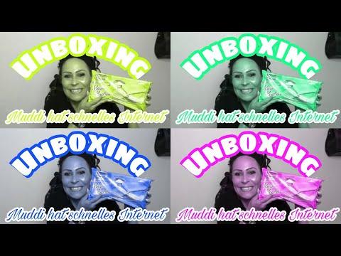 Unboxing - MAL WIEDER Post von meiner Janamaus & Muddi hat High Speed Internet