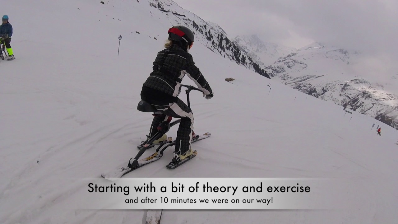 Copenhill Test Of Brenter Snow Bike In St Anton Easter 2017 Youtube
