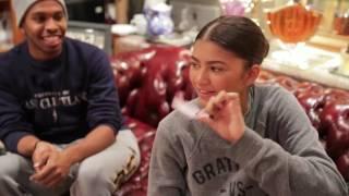 Zendaya, American Actress visits the Scentarium