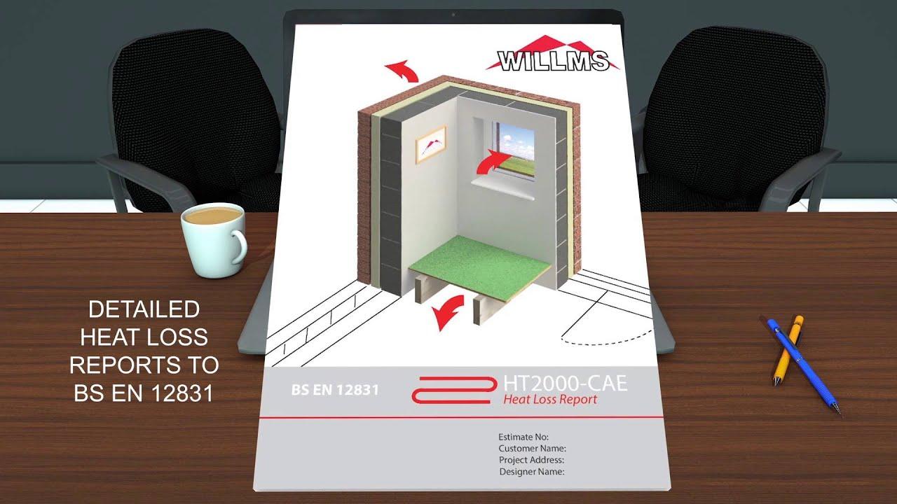 Underfloor Heating Design Software Youtube