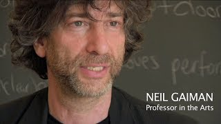 Neil Gaiman Talks about Teaching at Bard College