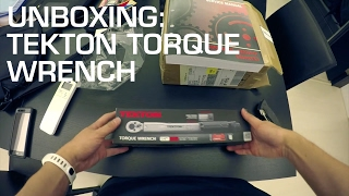 UNBOXING: TEKTON 24320 1/4-Inch Drive Click Torque Wrench