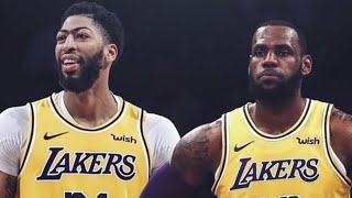 ANTHONY DAVIS PUTS HIMSELF AND LEBRON IN ALL TIME LAKER STARTING 5 OVER DESERVING LEGENDS (REACTION)