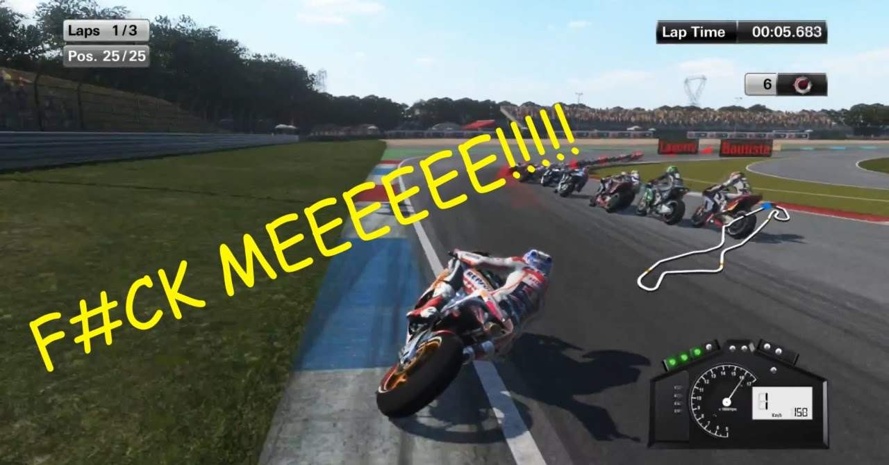 MOTOGP 15 GAMEPLAY - RAGE QUIT #2 - YouTube