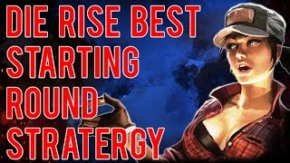 💀ZOMBIE TIPS : Die Rise - Best Starting Rounds Strategy (Great Leap Forward) Black Ops 2 Zombies