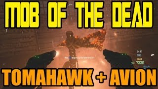 """""""MOB OF THE DEAD"""" ZOMBIES Gameplay + Secret AVION et TOMAHAWK - Black Ops 2 Zombies Gameplay"""
