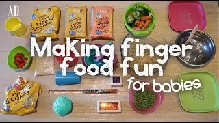 HOW TO MAKE FOOD FUN FOR BABIES | AD
