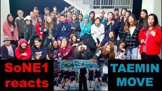 TAEMIN (태민) - MOVE M/V Reaction by SoNE1