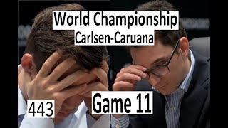 Carlsen-Caruana ¦ Game 11 ¦ 'The Tension is at its Peak!'