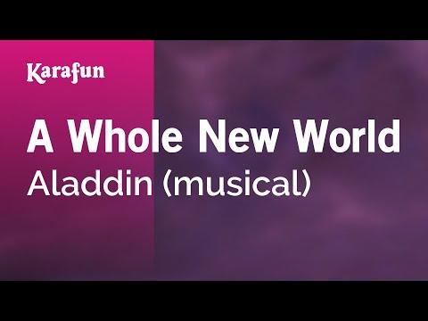Karaoke A Whole New World - Aladdin (Musical) *