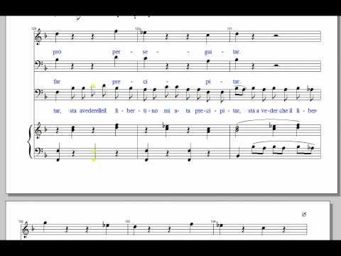 Don Giovanni Act 1 Intro Arioso (Notte Giorno)