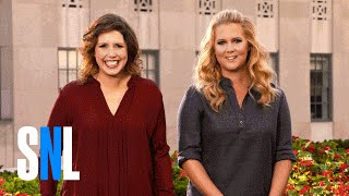 SNL Host Amy Schumer Looks Different to Vanessa Bayer