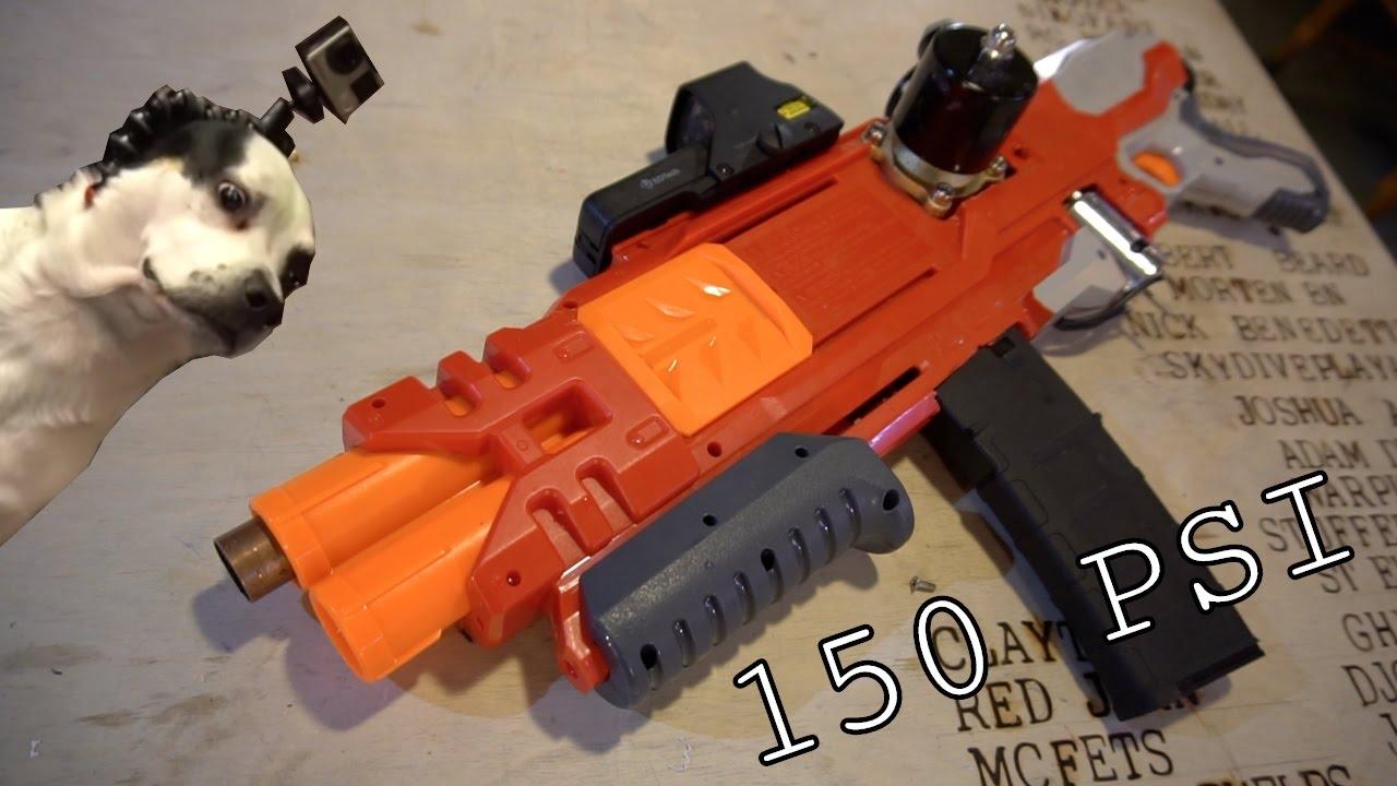 Deadly Nerf gun mods - YouTube  Deadly Nerf gun...