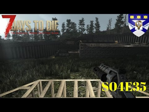 7 Days to Die Alpha 15 (S04)  -Ep 35 Raising The Village -Multiplayer Lets Play